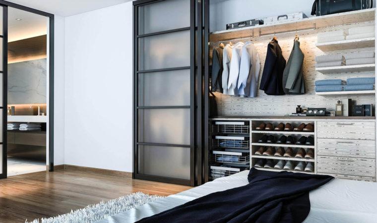 Ideas On Custom Built-In Wardrobe Closets